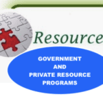 GOVERNMENT AND PRIVATE ASSISTANCE PROGRAMS