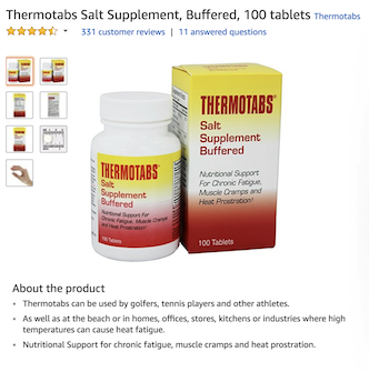 best salt supplement tablet