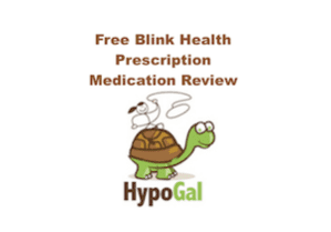 free blink health prescription review